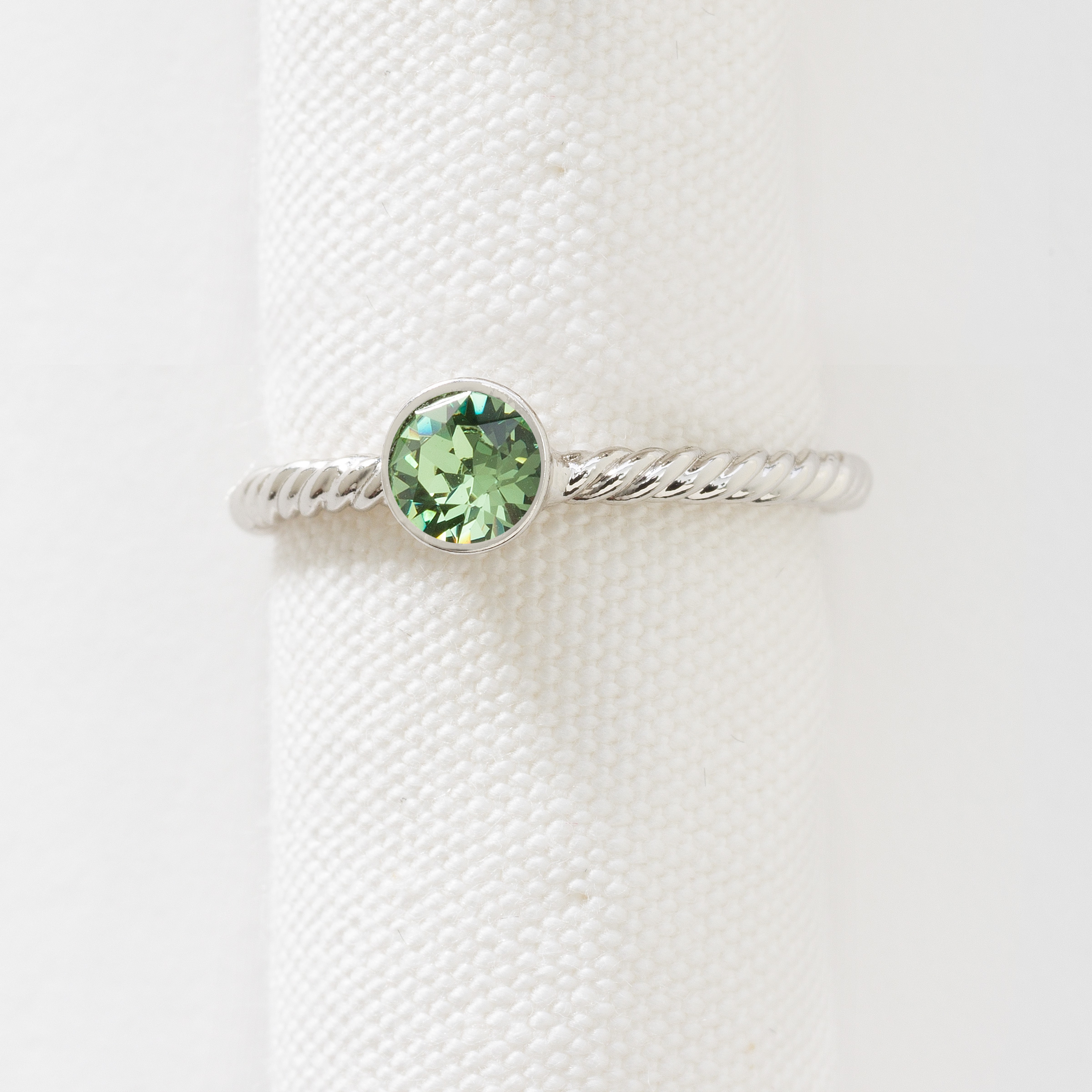 listing il mothers ring birthstone august hammered s mother silver engagement fullxfull stackable peridot small skinny rings