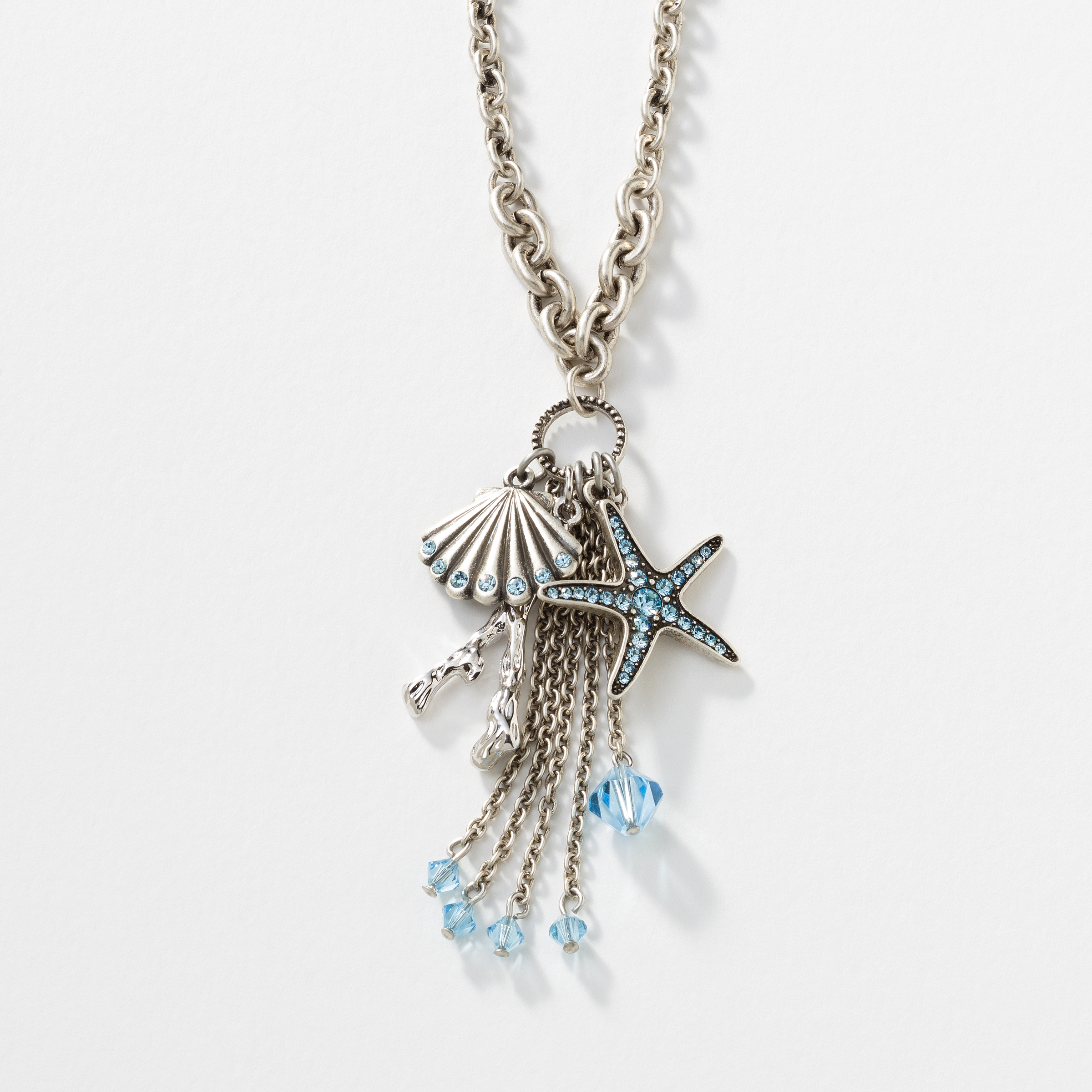 Touchstone crystal by swarovski jewelry home parties enlarge under the sea pendant aloadofball Gallery