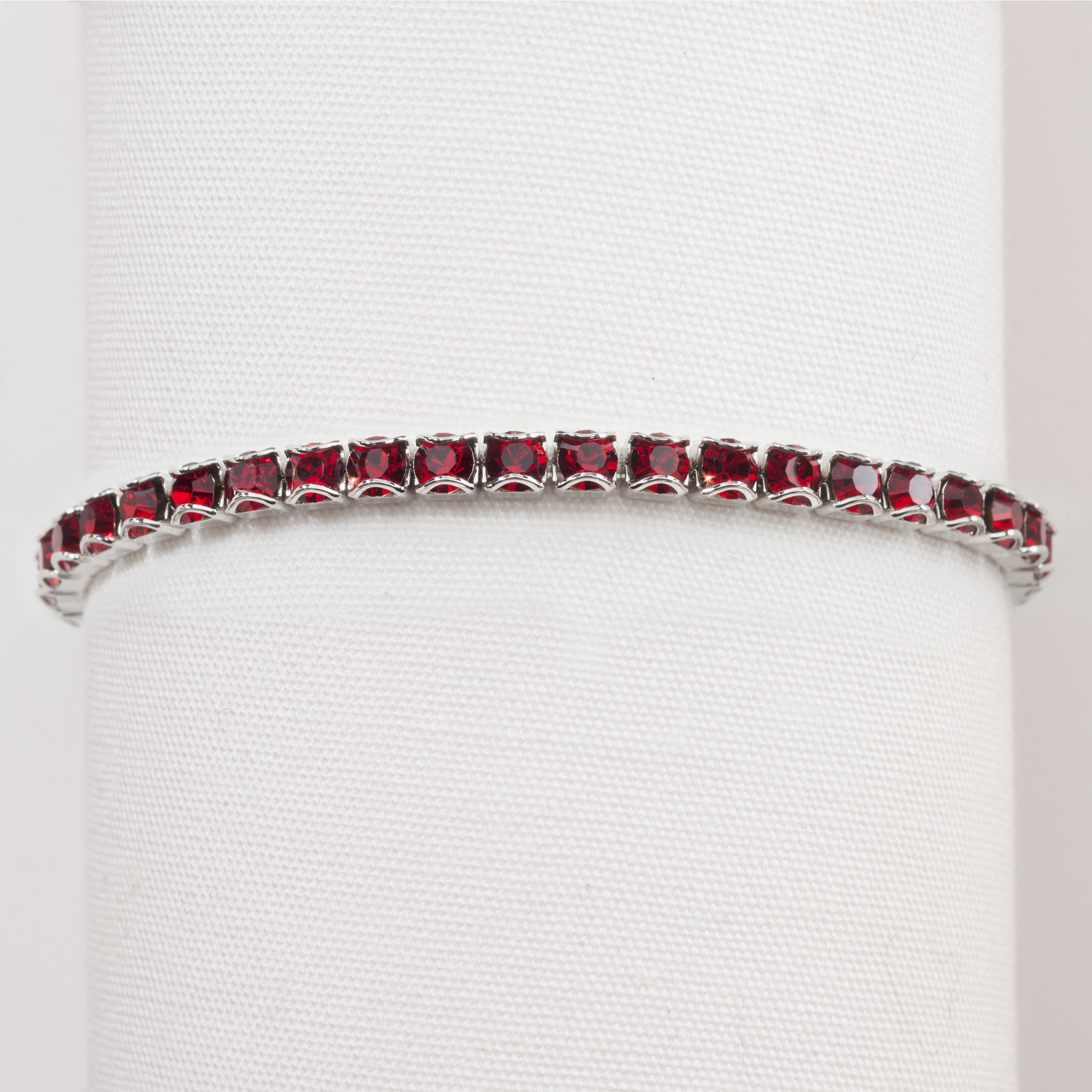 birthstone jewellery january bracelet auree garnet bali jan