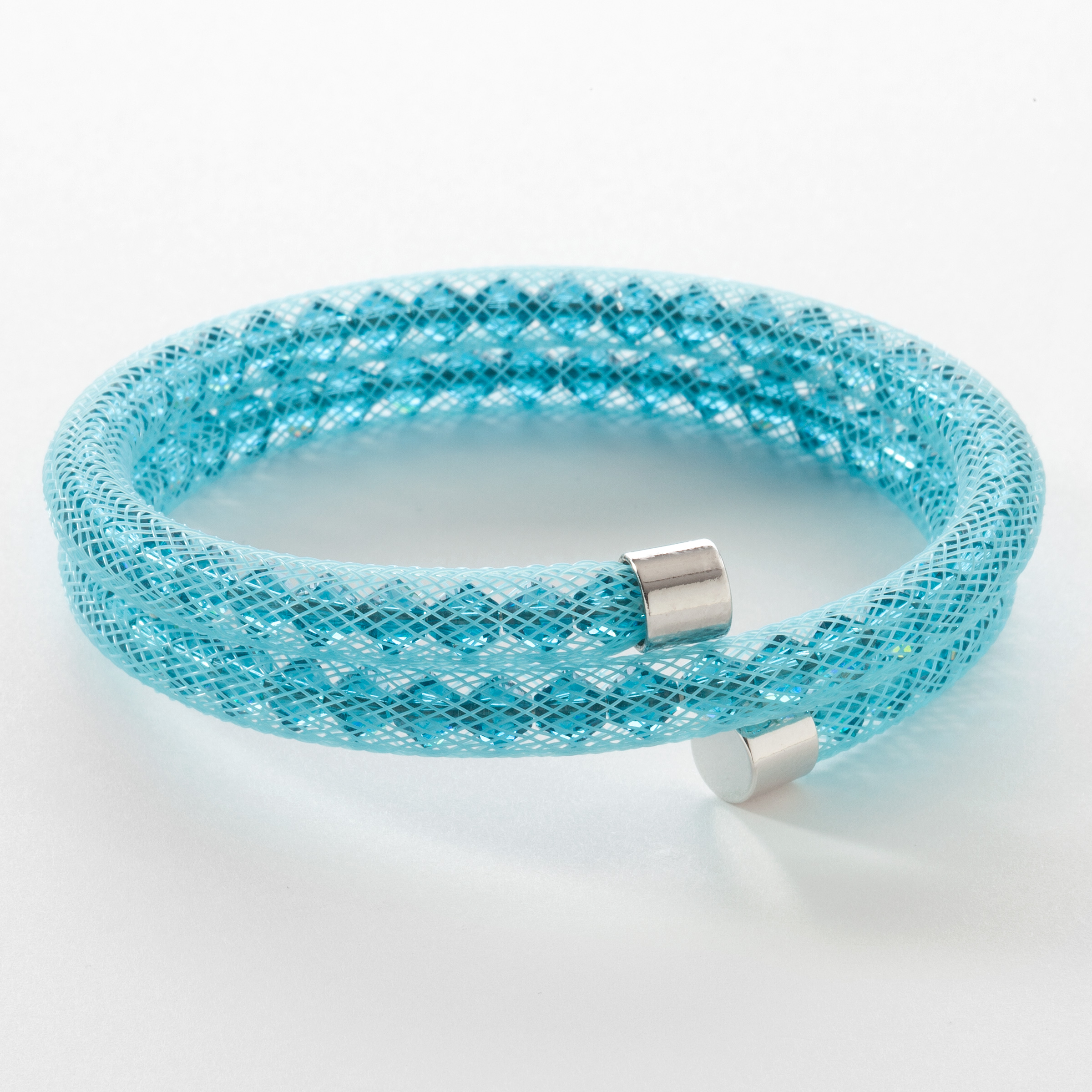 wrap her amazonite for double bracelet gemstone beaded blue pin light