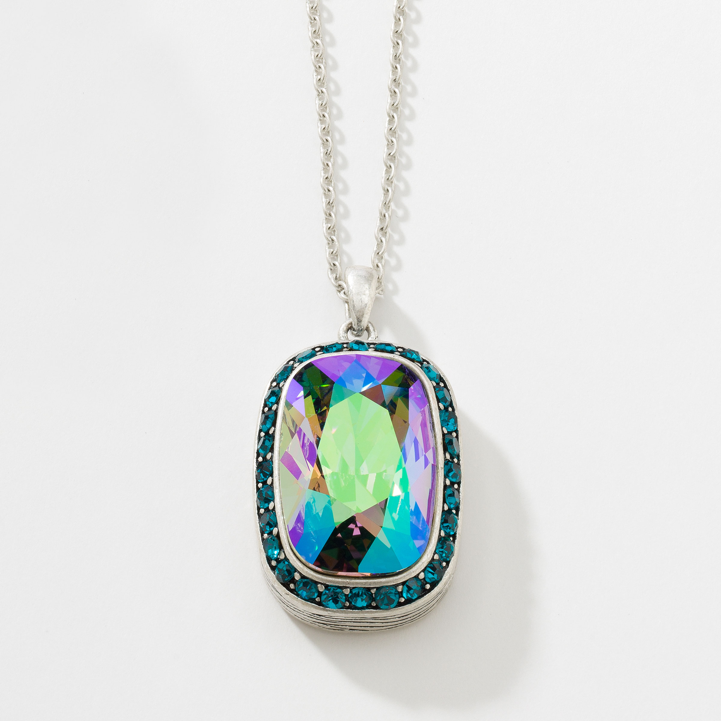 Touchstone crystal by swarovski jewelry home parties enlarge prism pendant aloadofball Image collections