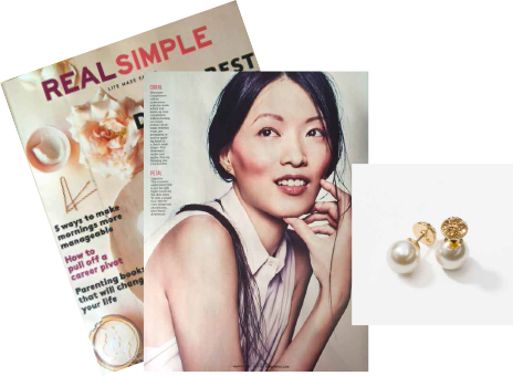 Real Simple magazine page and cover
